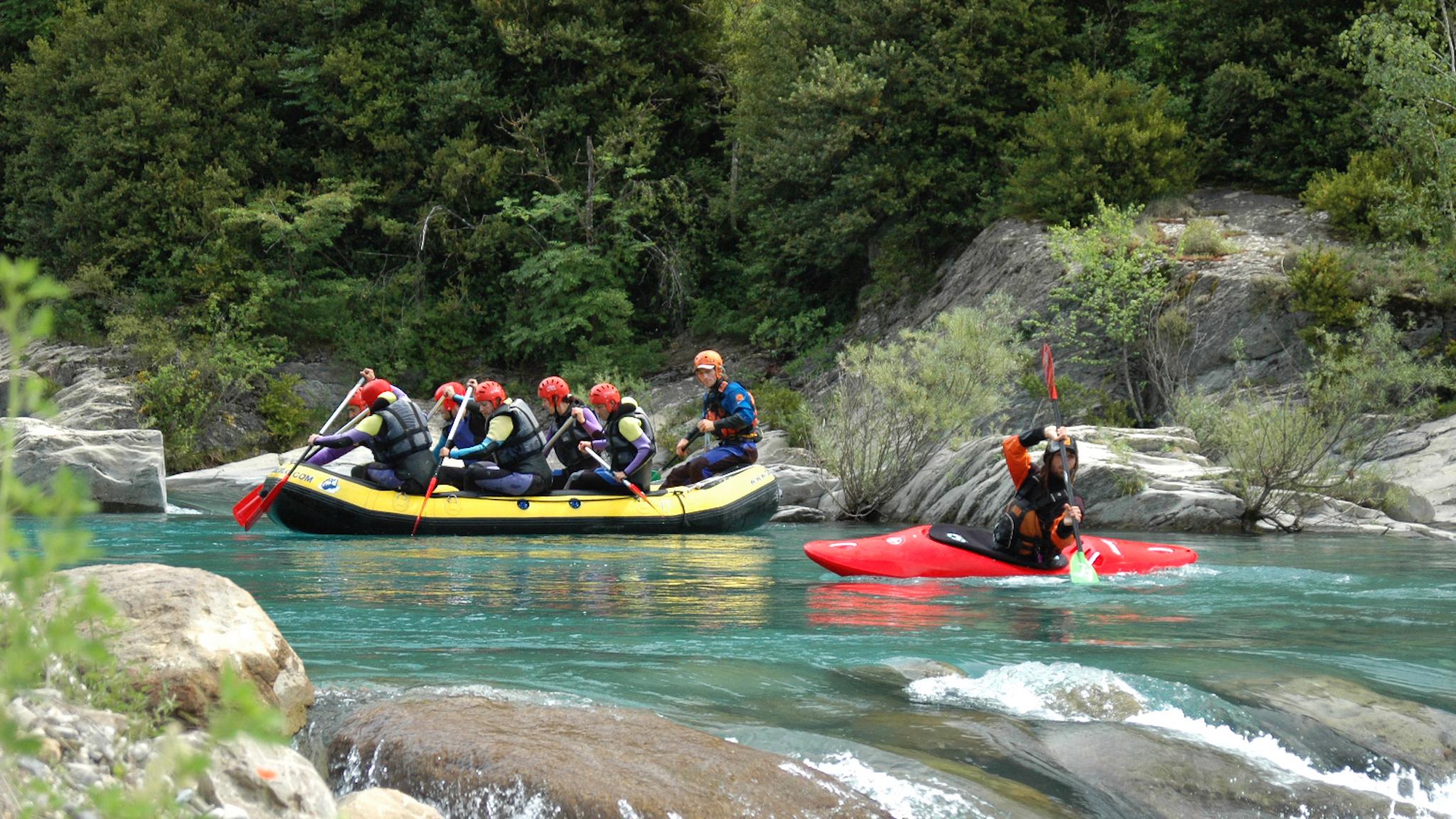 Raftink y kayak