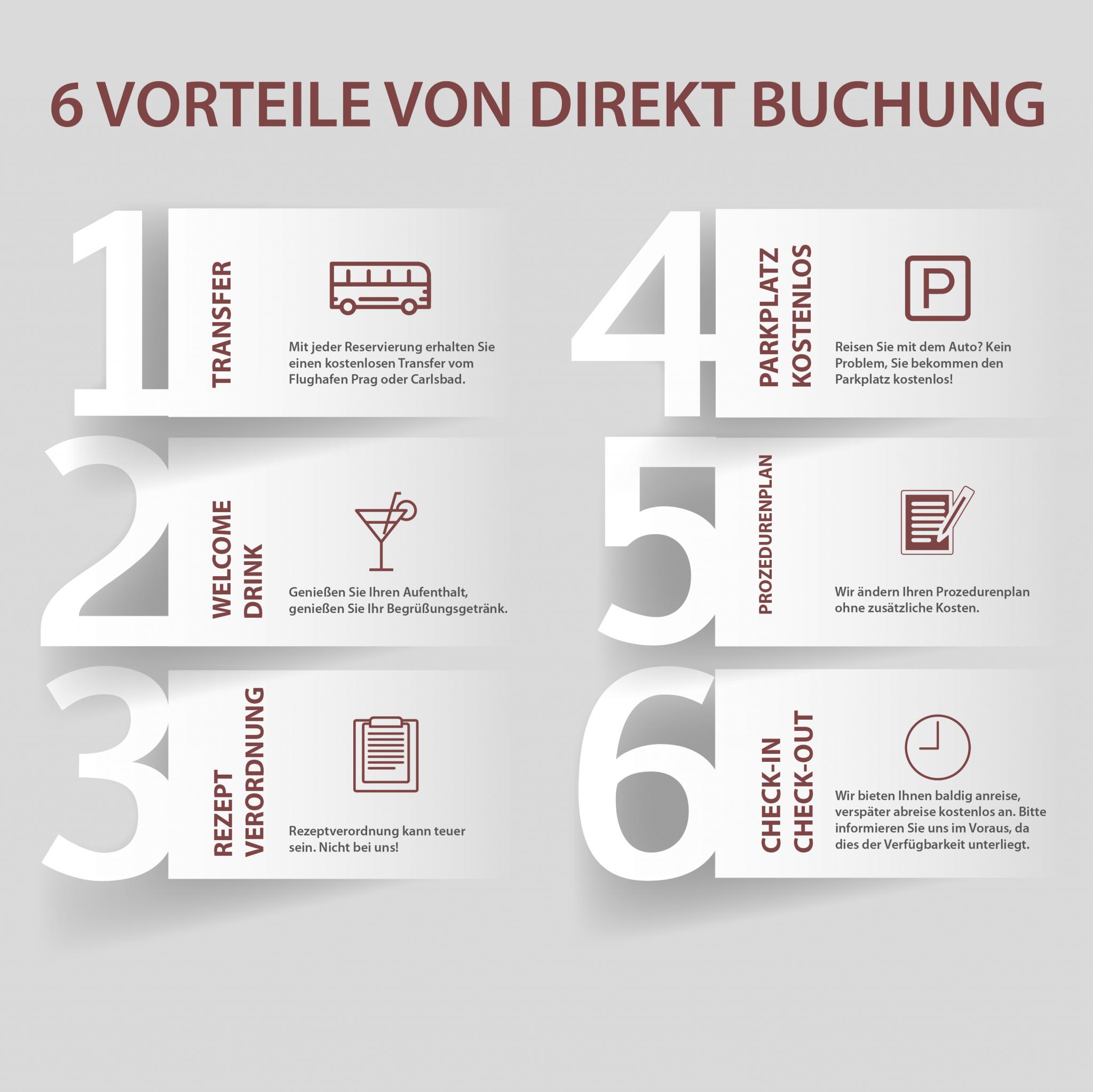 Benefits of an individual reservation - Hotel Pavlov Karlovy Vary