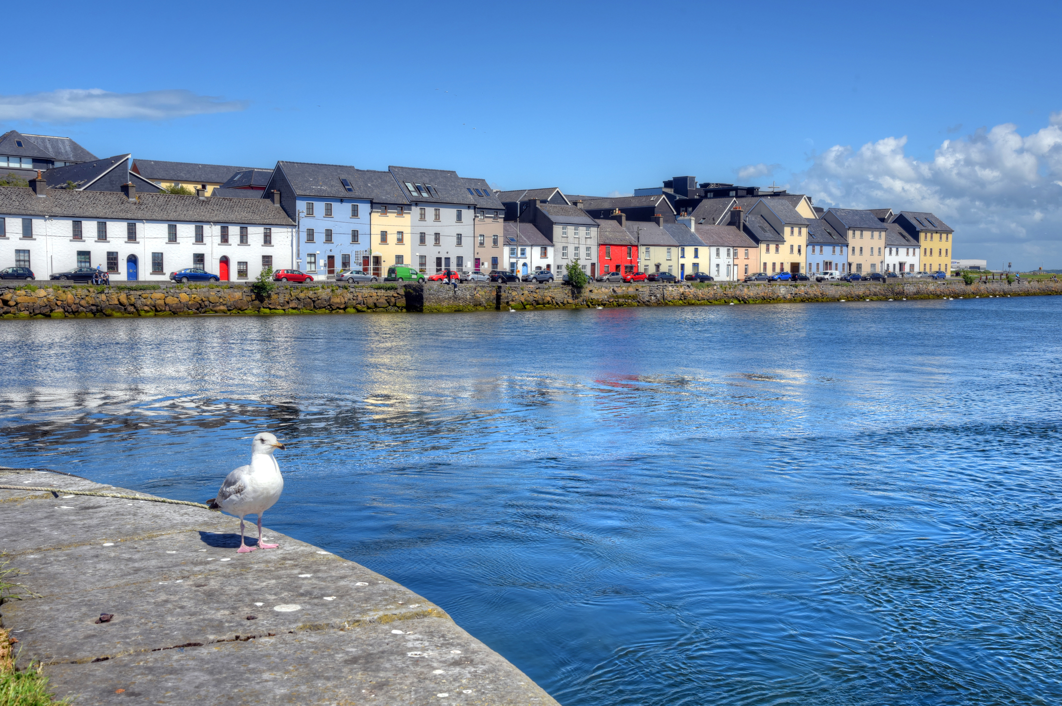 Explore Galway and Sightseeing  - The Long Walk and Claddagh Galway City