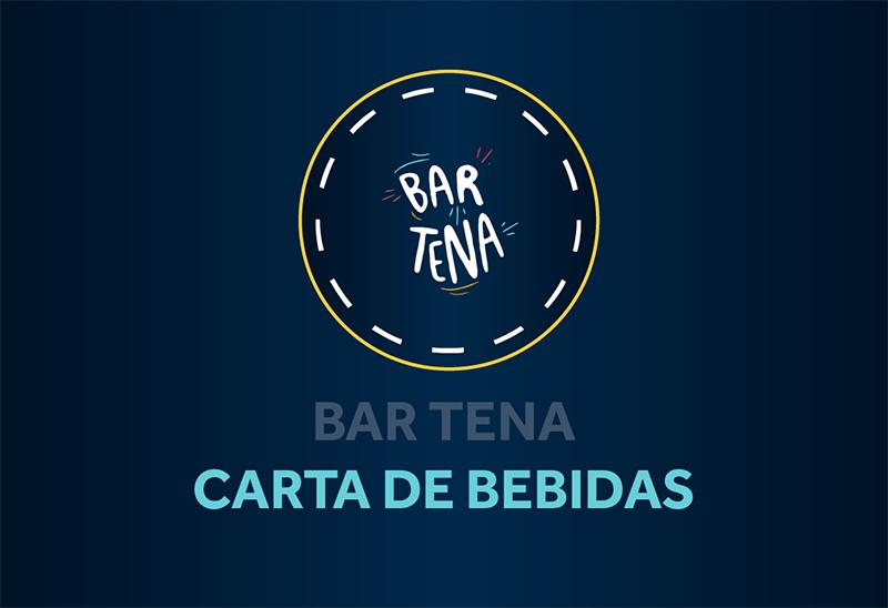 Bar Tena, carta de bebidas