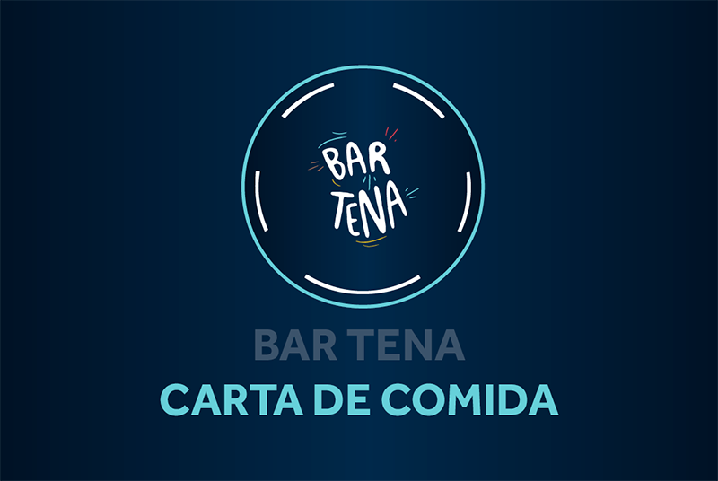 Bar Tena, carta de comida