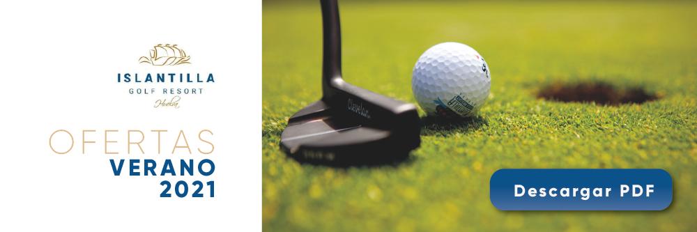 Ofertas de golf 2021 en Islantilla