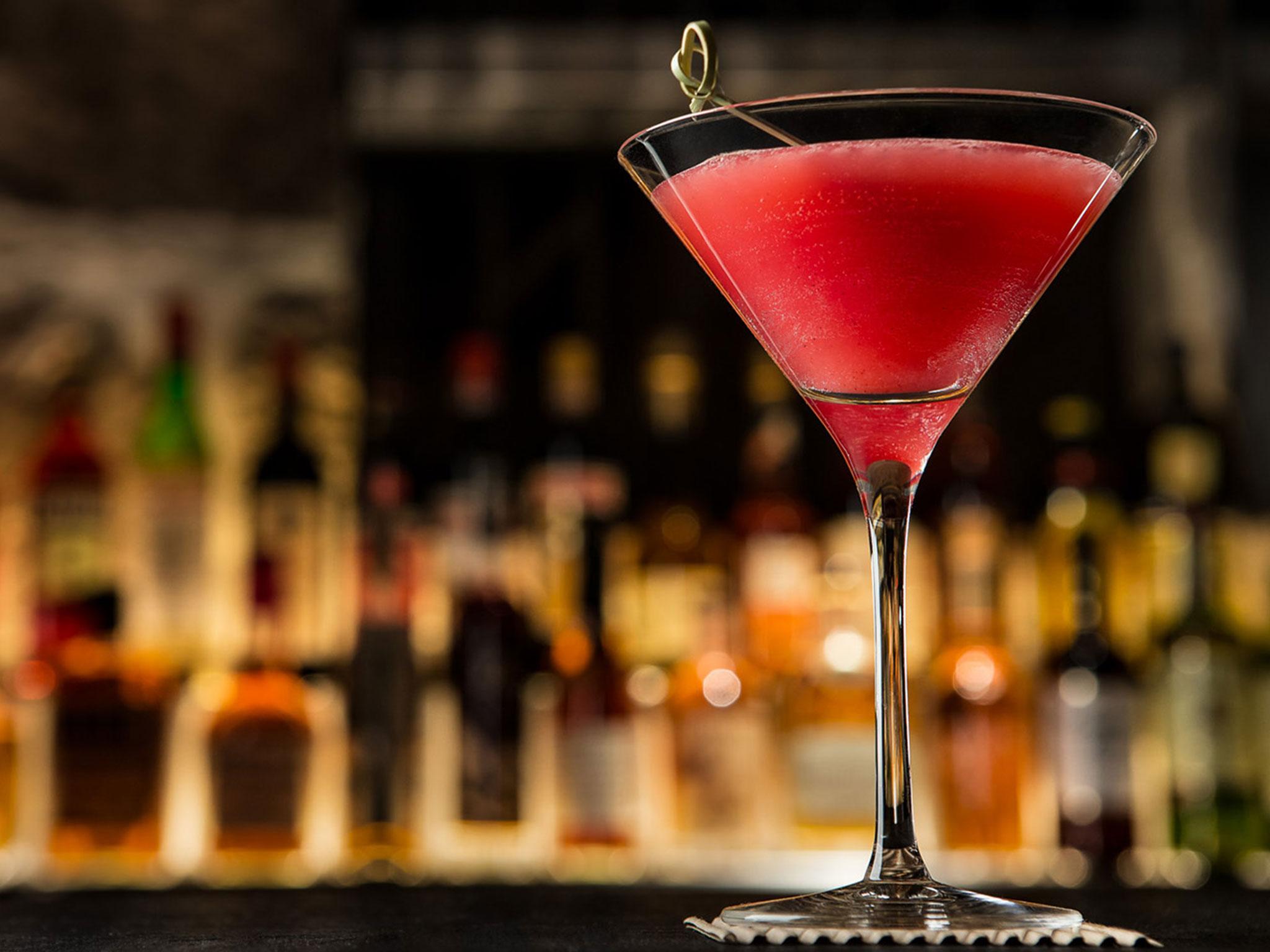 Cocktails Served at the 1520 Bar
